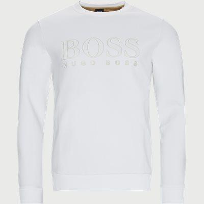 Salbo Iconic Crewneck Sweatshirt Regular | Salbo Iconic Crewneck Sweatshirt | Hvid