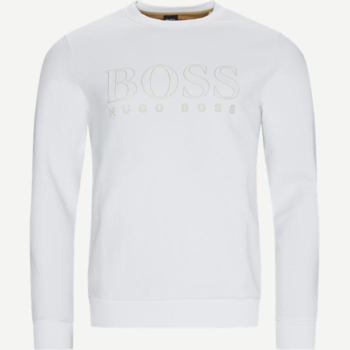 Salbo Iconic Crewneck Sweatshirt - Sweatshirts - Regular - Hvid