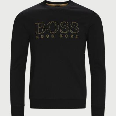 Salbo Iconic Crewneck Sweatshirt Regular | Salbo Iconic Crewneck Sweatshirt | Sort