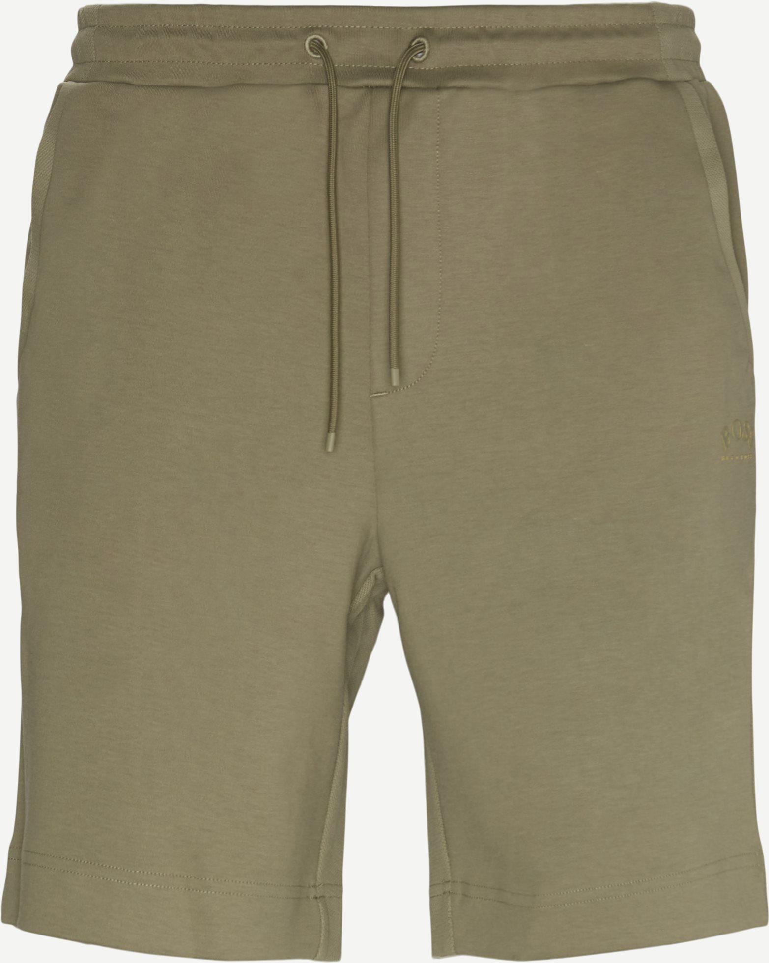 Shorts - Regular fit - Oliv