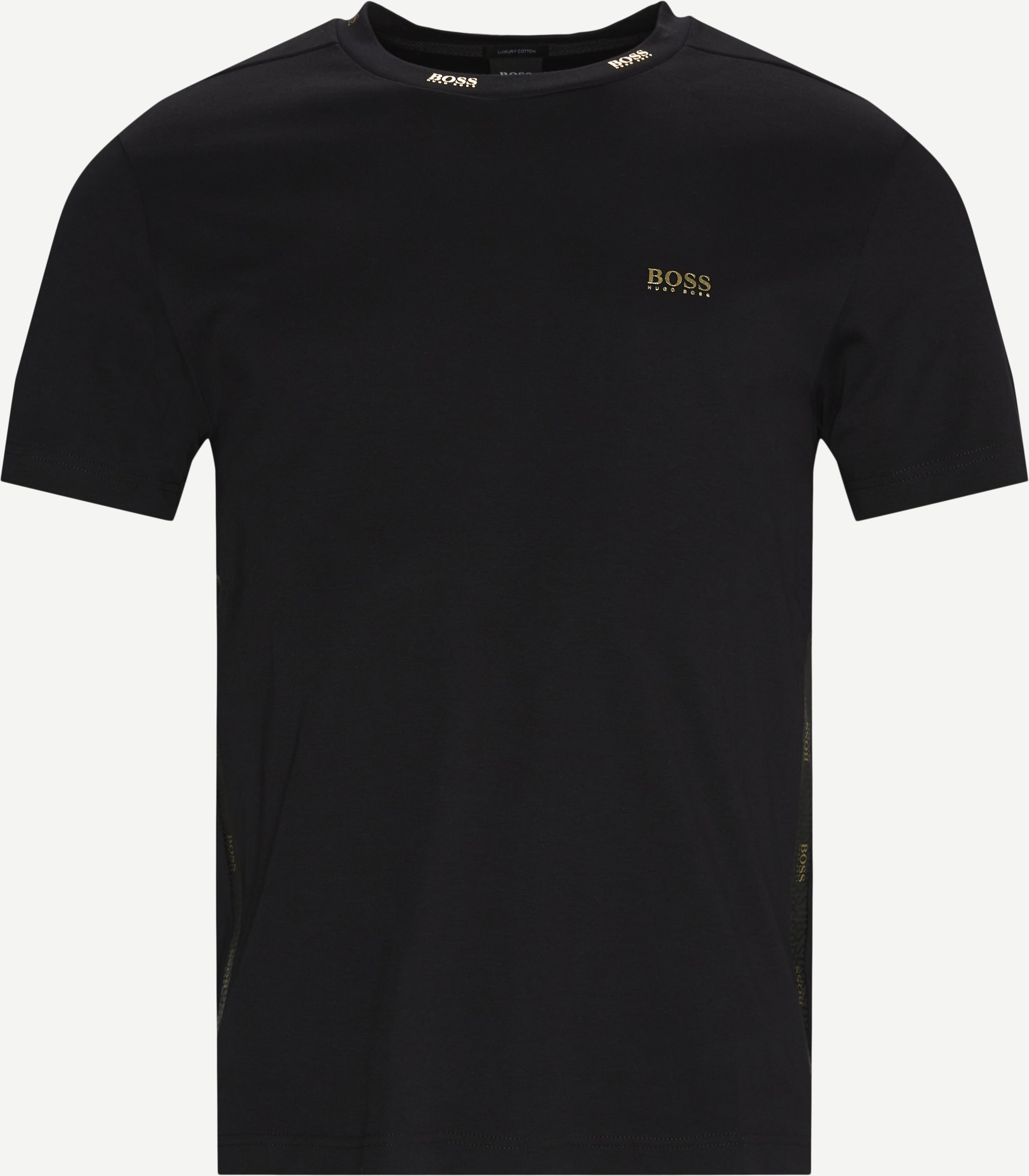 Tee Gold T-shirt - T-shirts - Regular - Svart