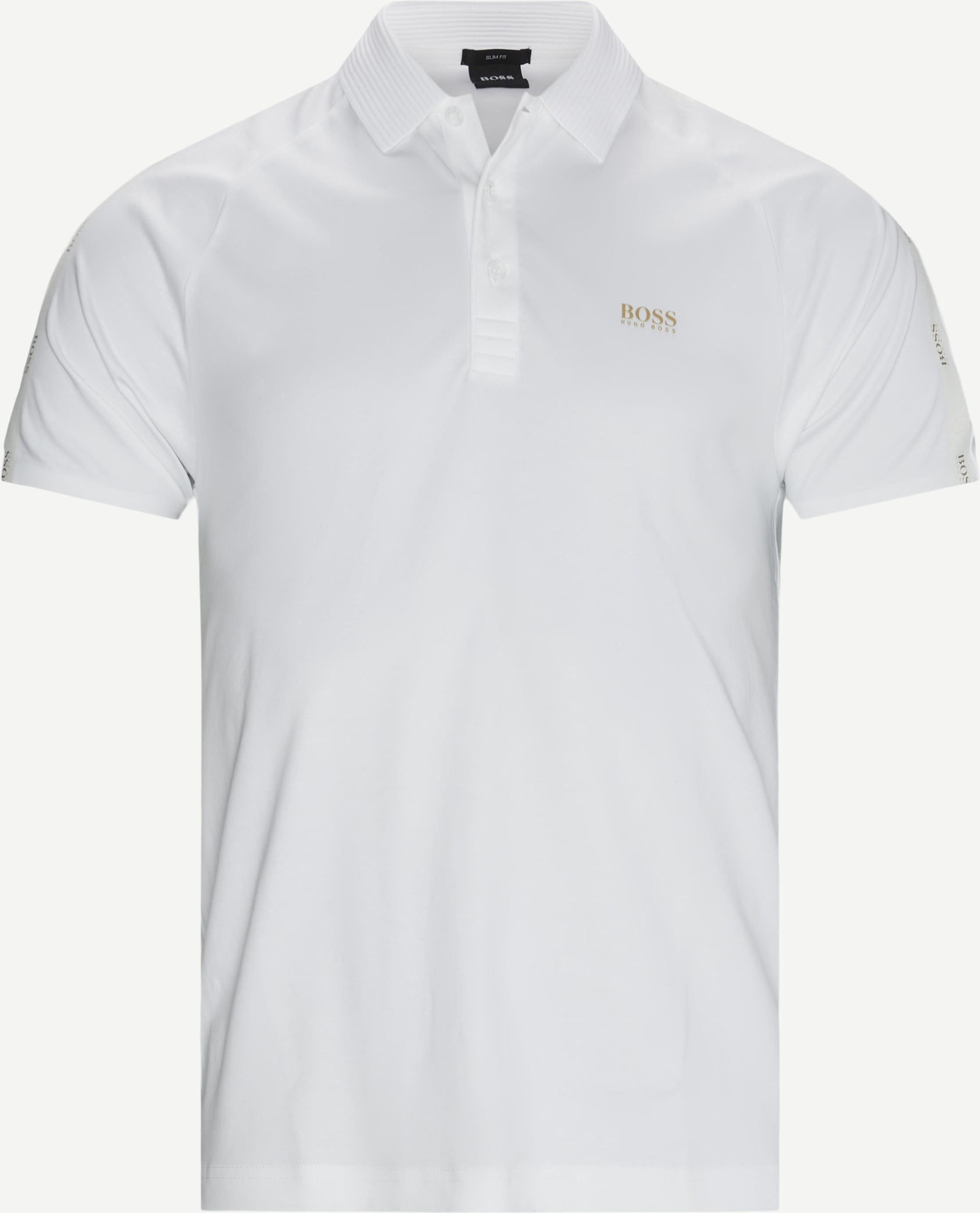 Paul Gold Polo T-shirt - T-shirts - Slim - Vit