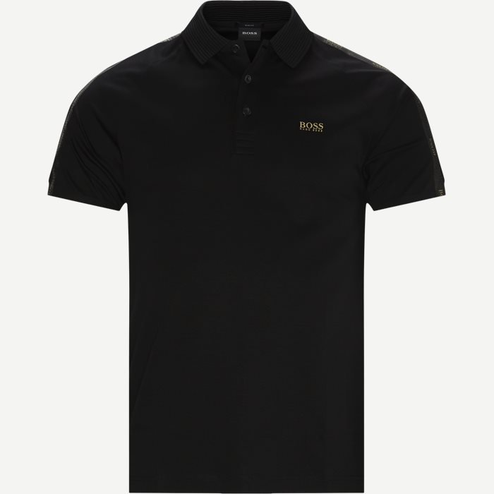 Paul Gold Polo T-shirt - T-shirts - Slim - Svart
