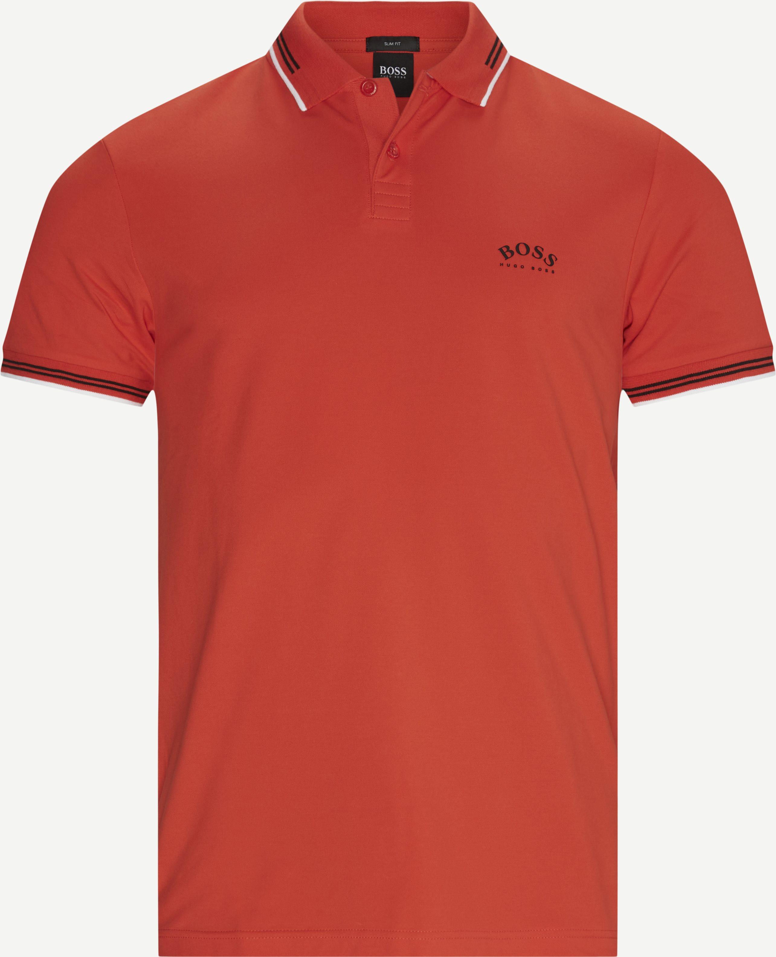T-Shirts - Slim - Orange