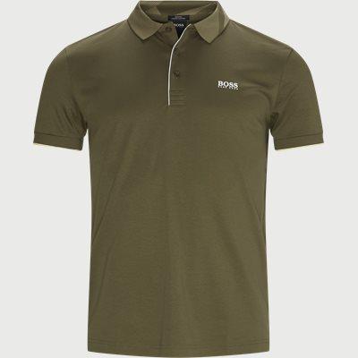 Paule 6 Polo T-shirt Slim fit | Paule 6 Polo T-shirt | Army