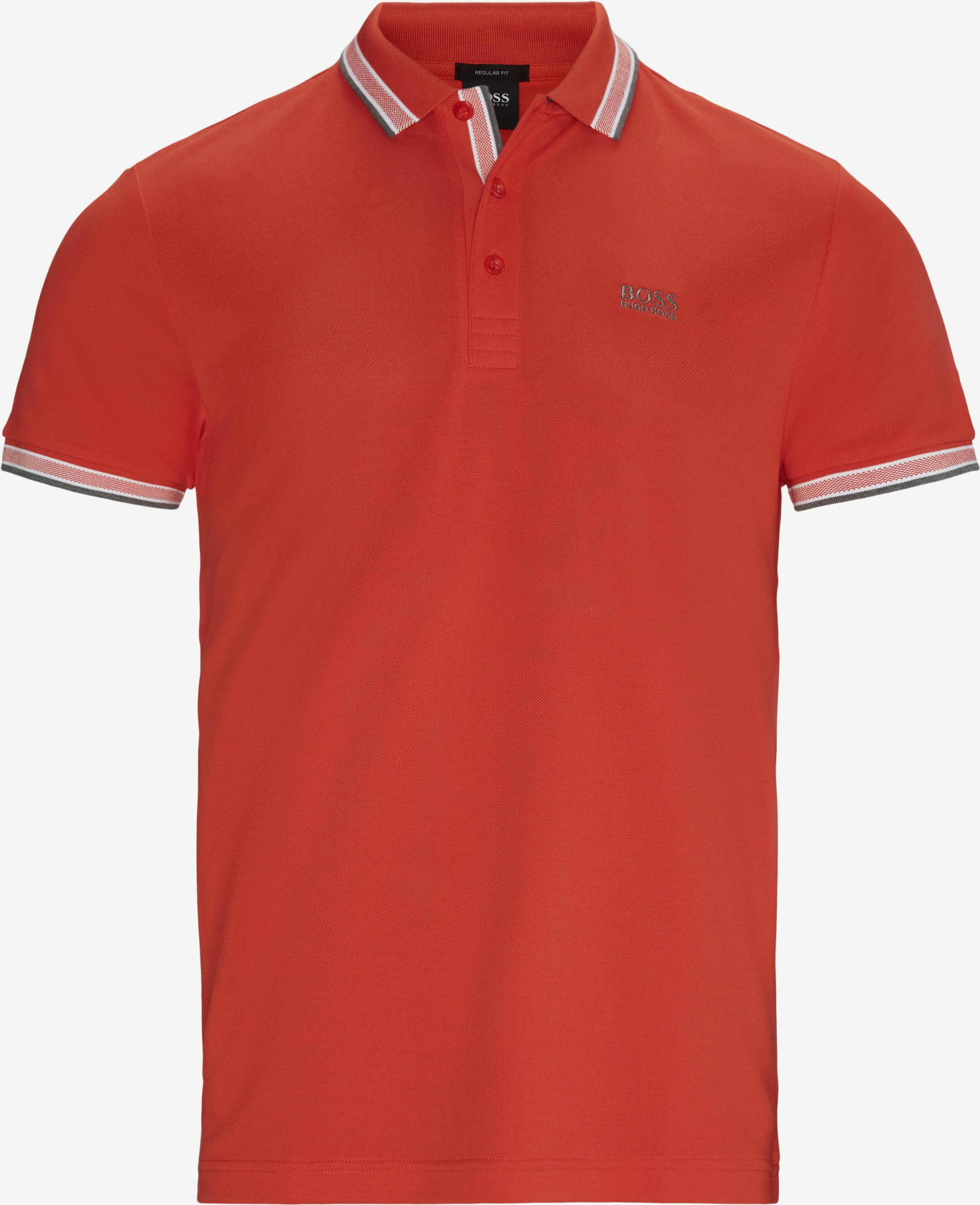 Paddy Polo T-shirt - T-shirts - Regular fit - Orange