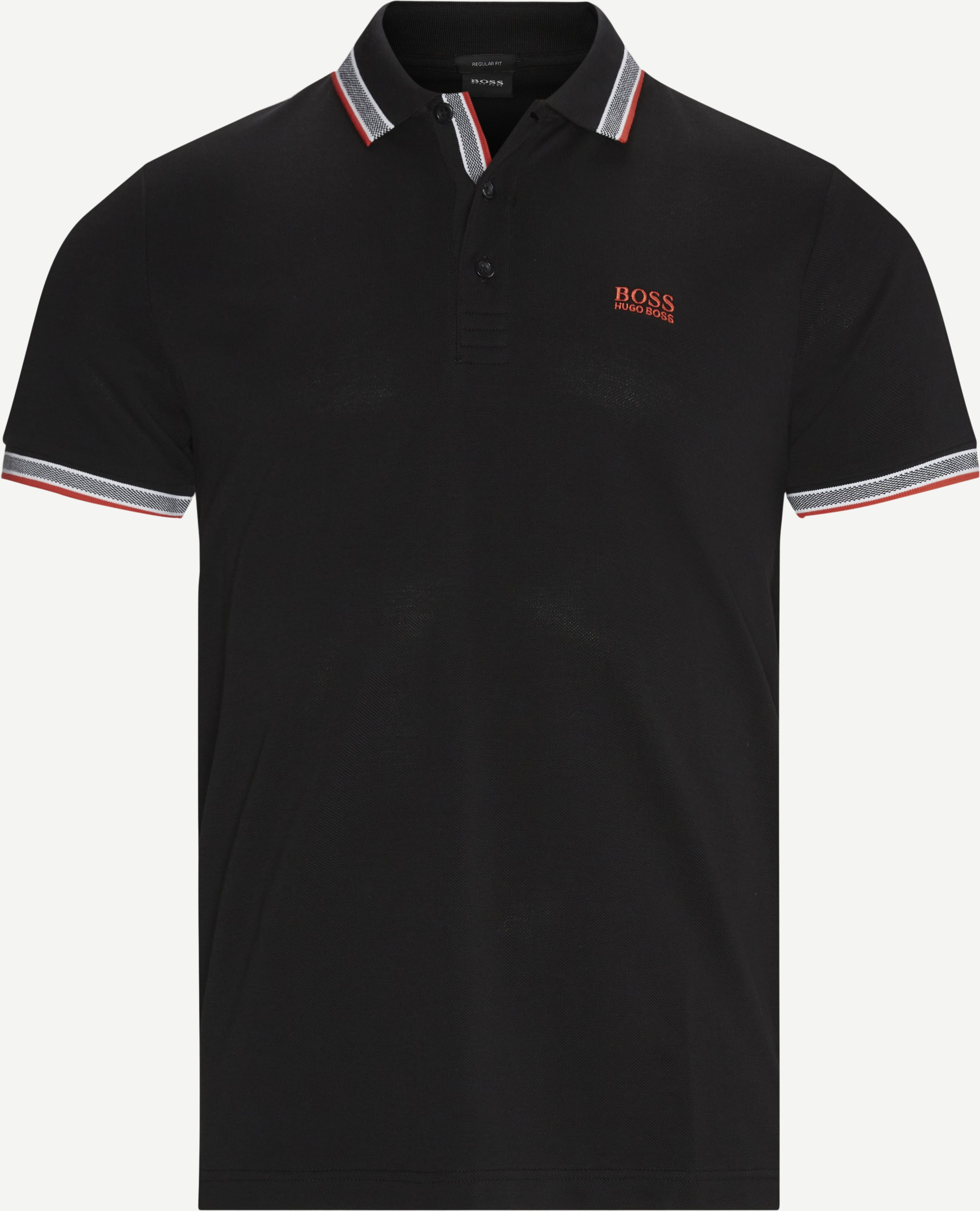 Paddy Polo T-shirt - T-shirts - Regular - Svart