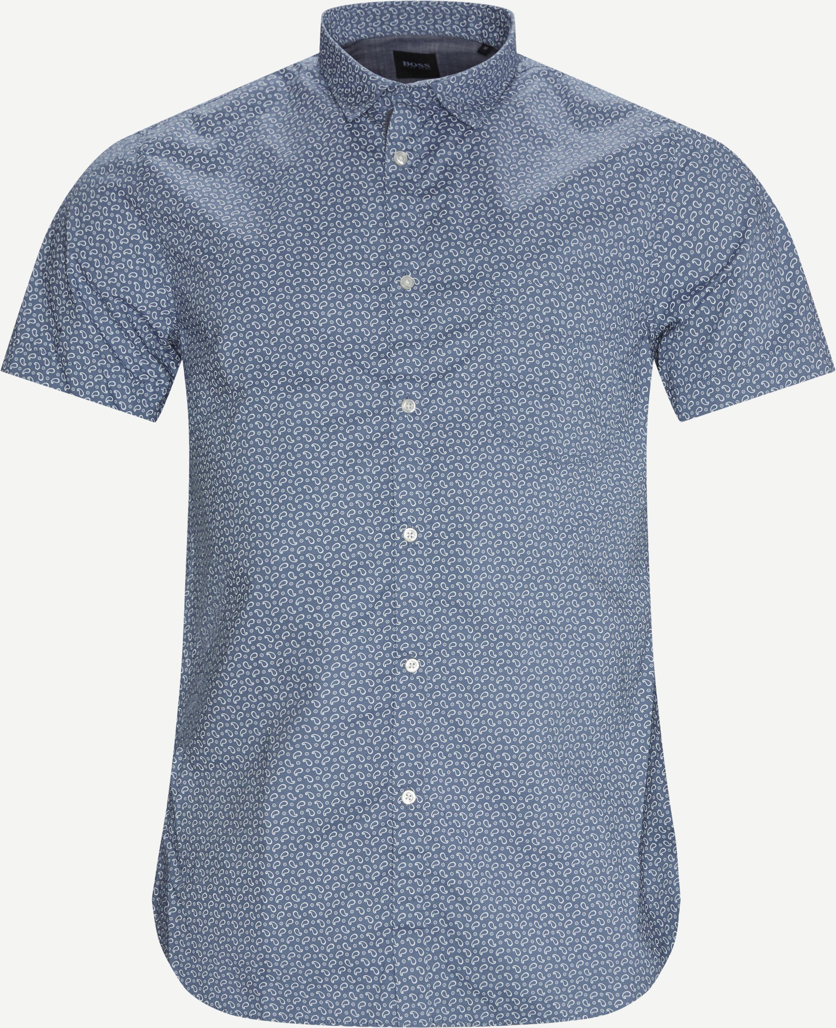 Gemusterte Hemden - Slim - Blau