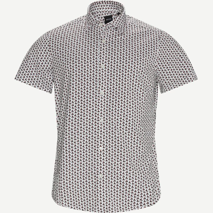 Kurzärmlige Hemden - Regular - Weiß