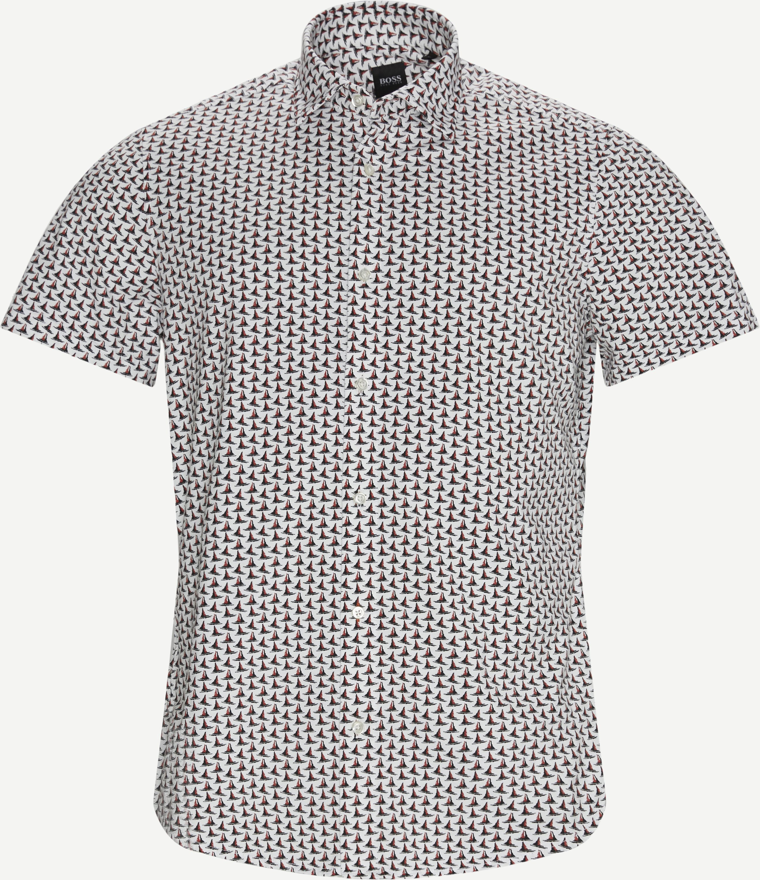 Rash Shirt  - Short-sleeved shirts - Regular - White
