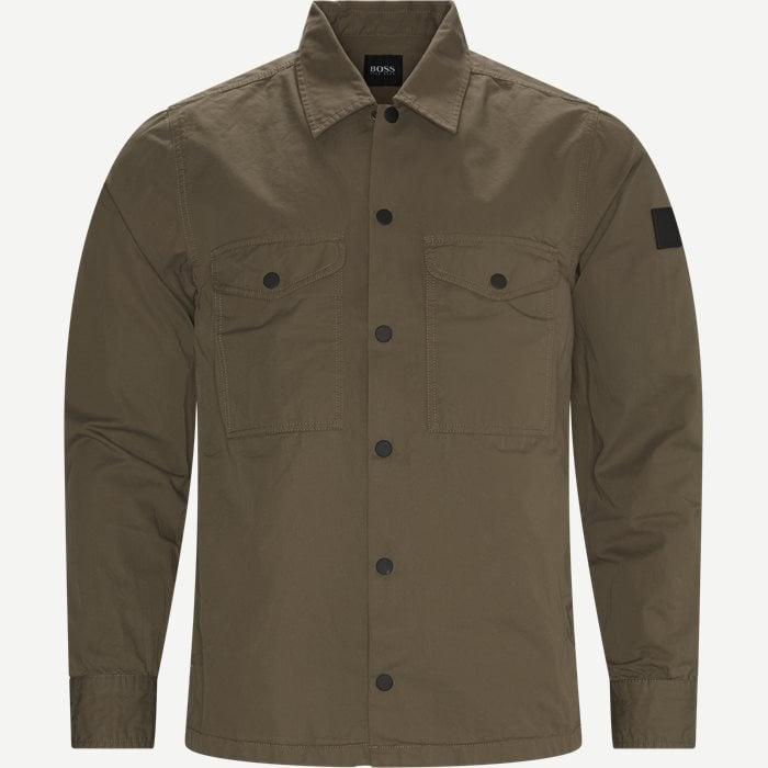 Lovel Shirt - Skjortor - Regular - Sand