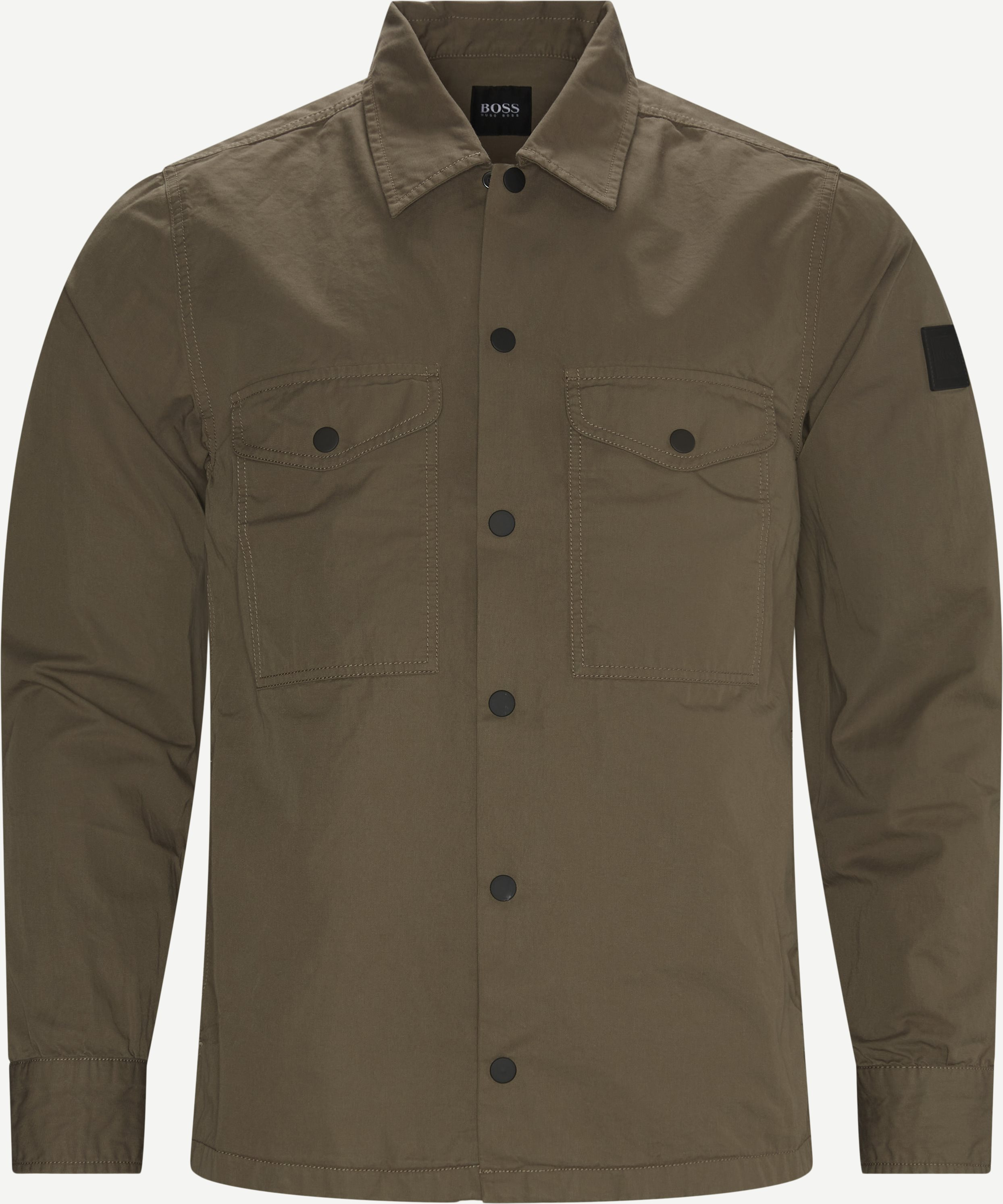 Lovel Shirt - Skjortor - Regular - Sand