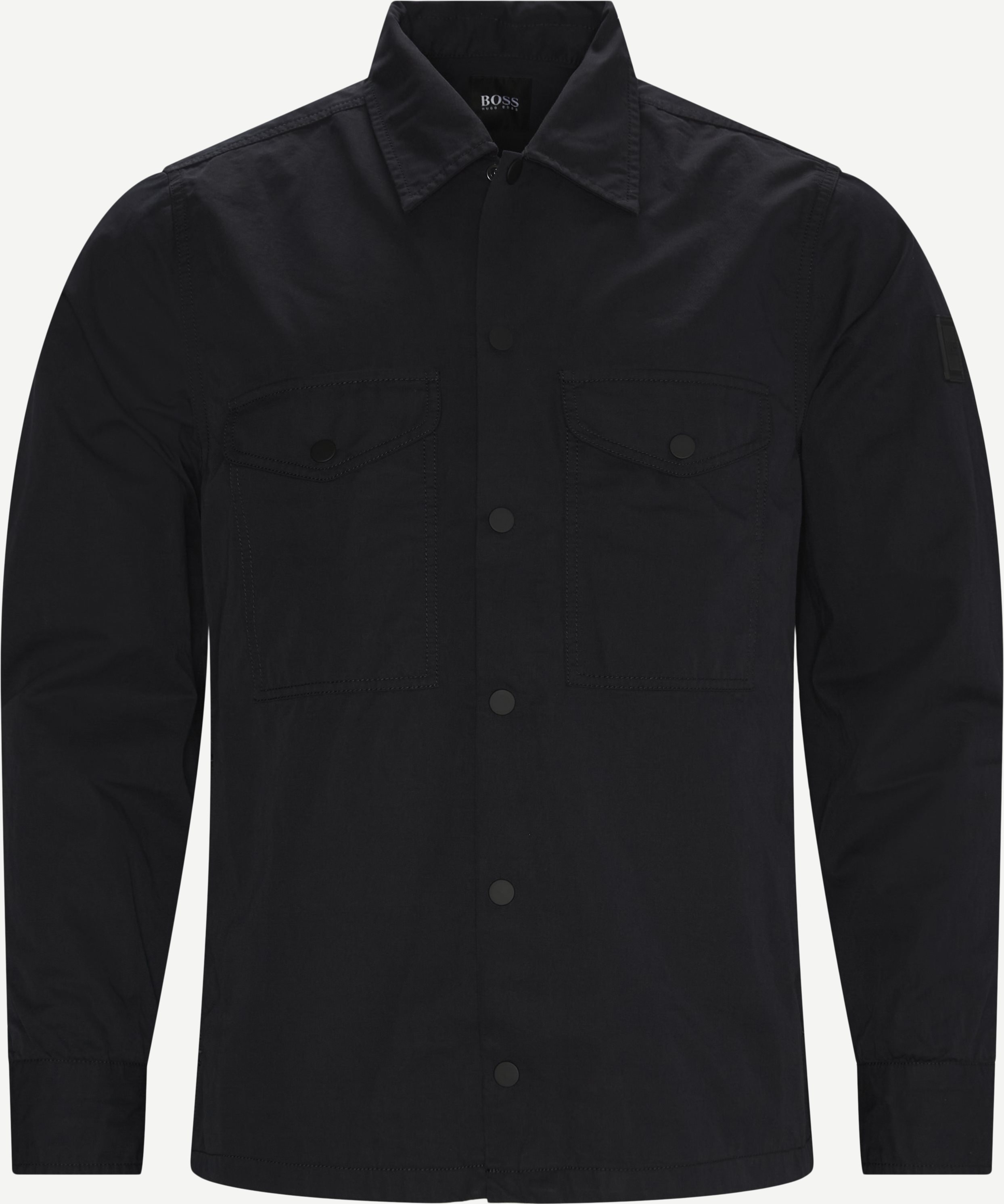 Lovel Shirt - Skjortor - Regular - Svart