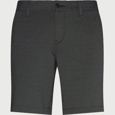 Slim | Shorts | Schwarz