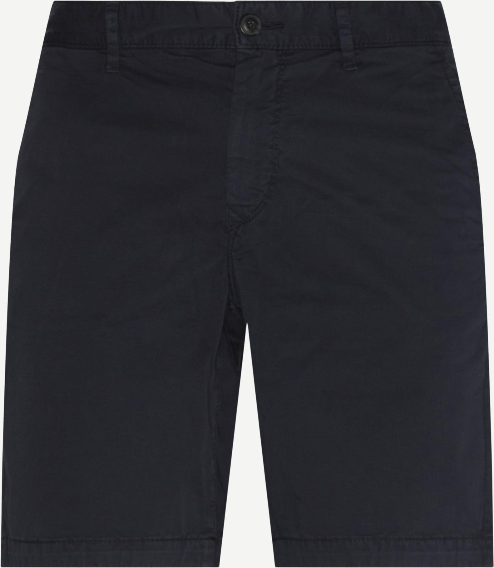 Shorts - Slim fit - Blå