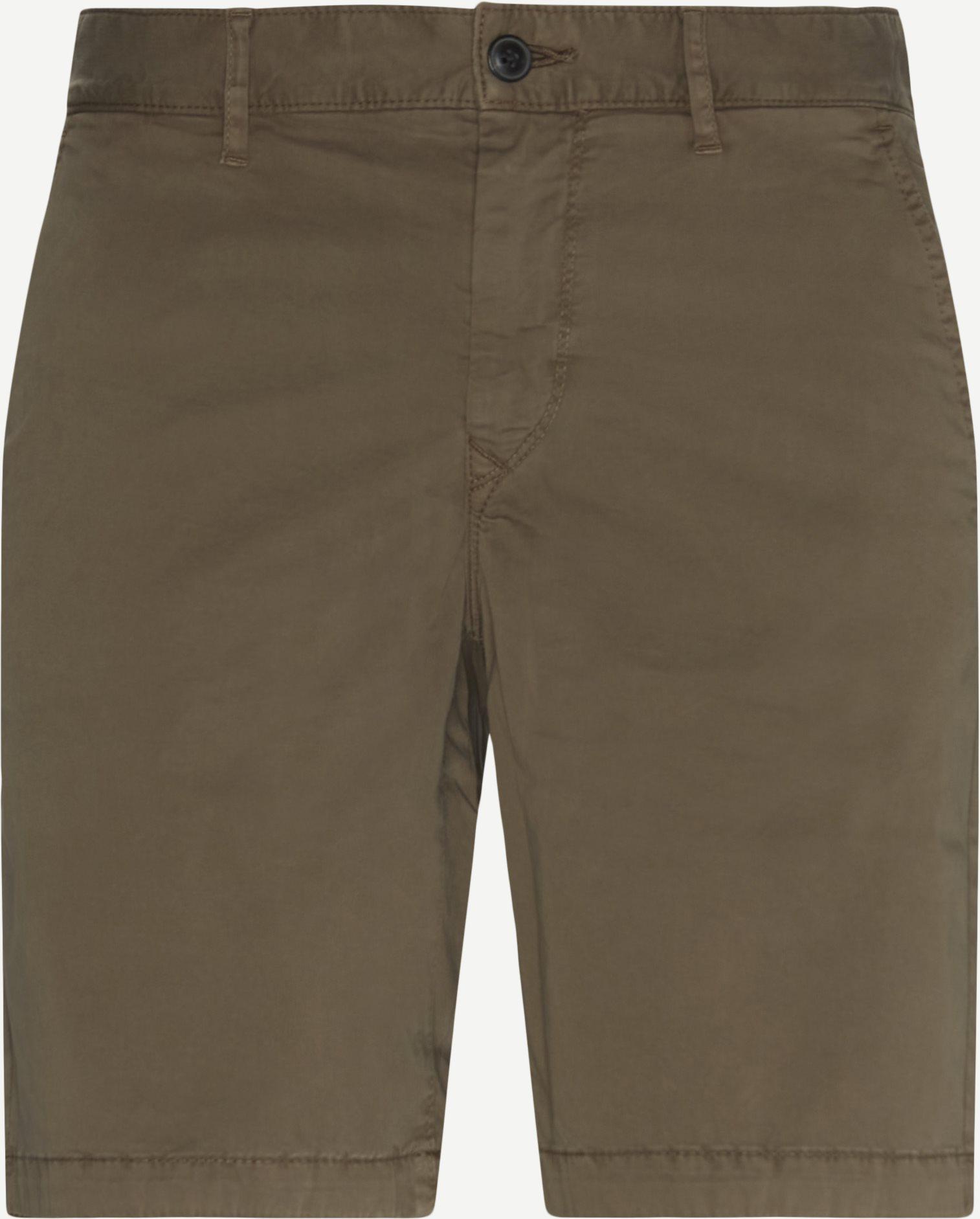 Shorts - Slim fit - Sand