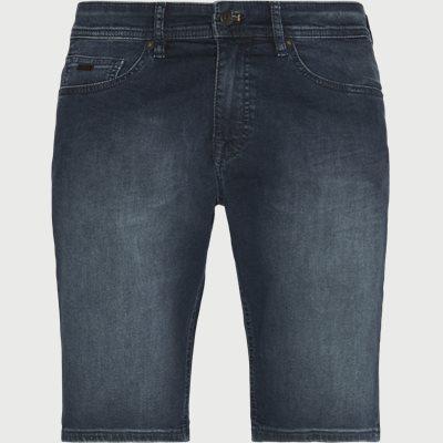 Slim fit | Shorts | Jeans-Blau