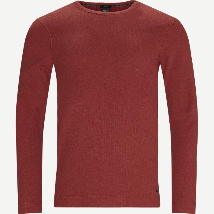 Tempest LS T-shirt - T-shirts - Slim - Red