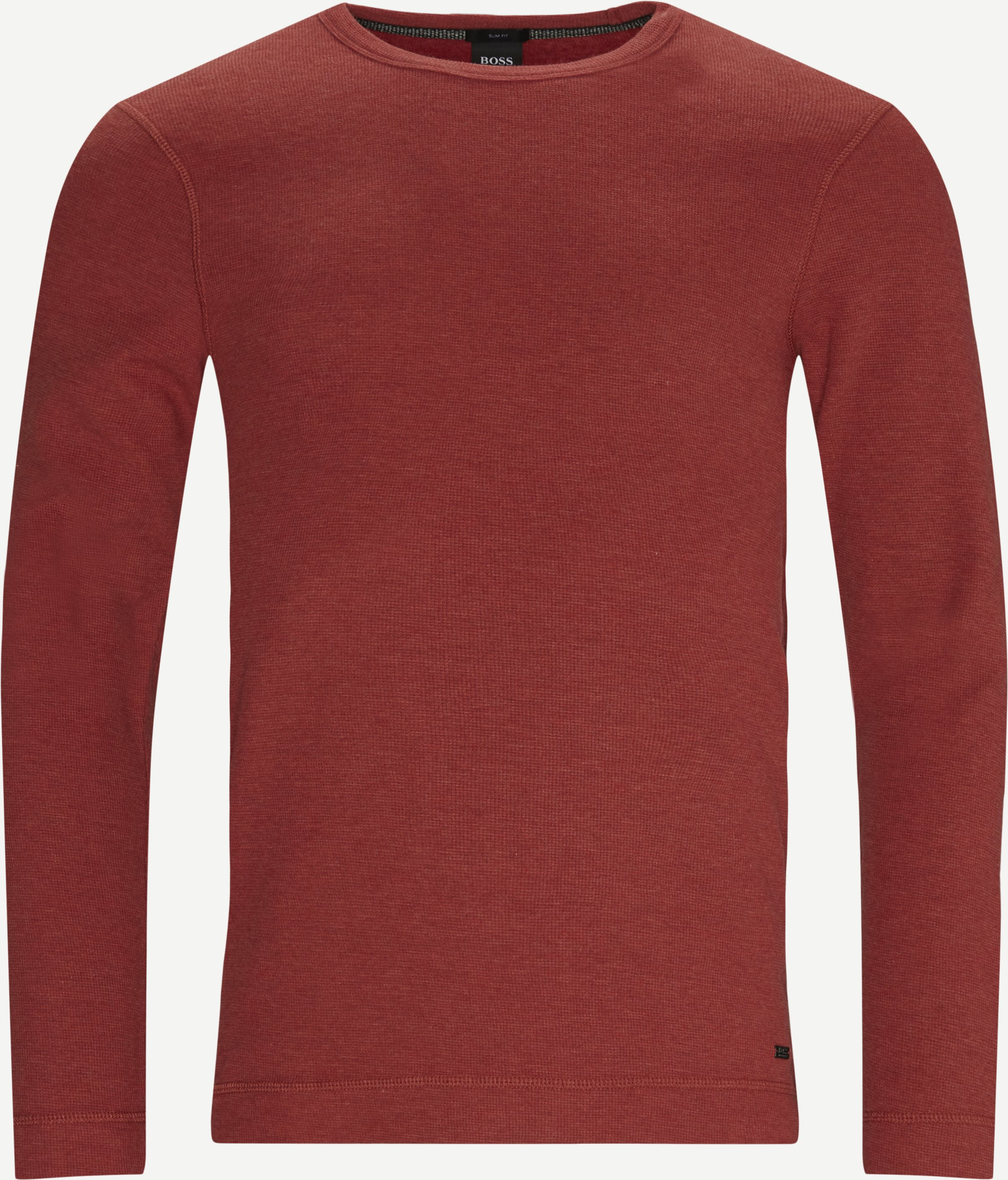 Tempest LS T-shirt - T-shirts - Slim - Röd