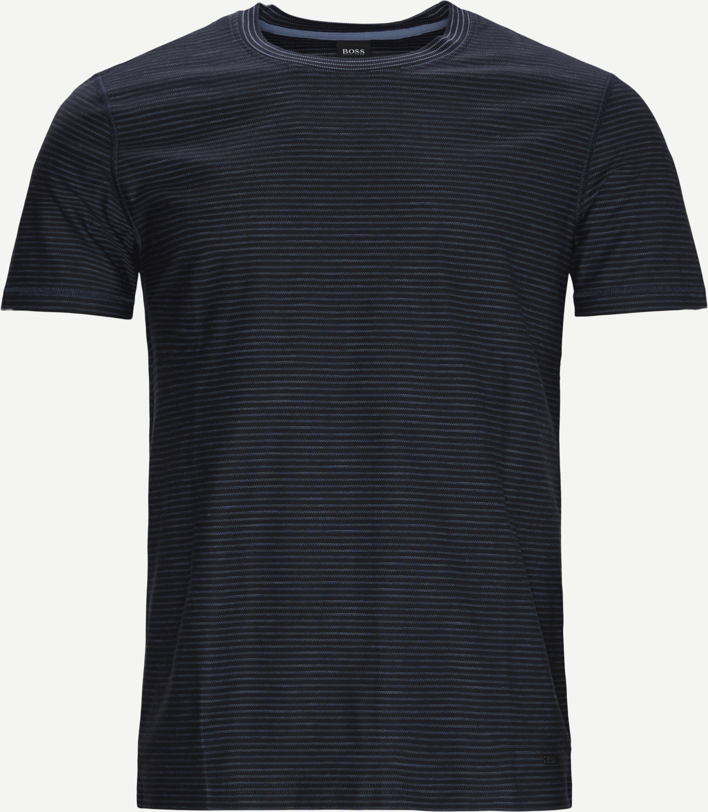 Tefloat T-shirt - T-shirts - Regular - Blå