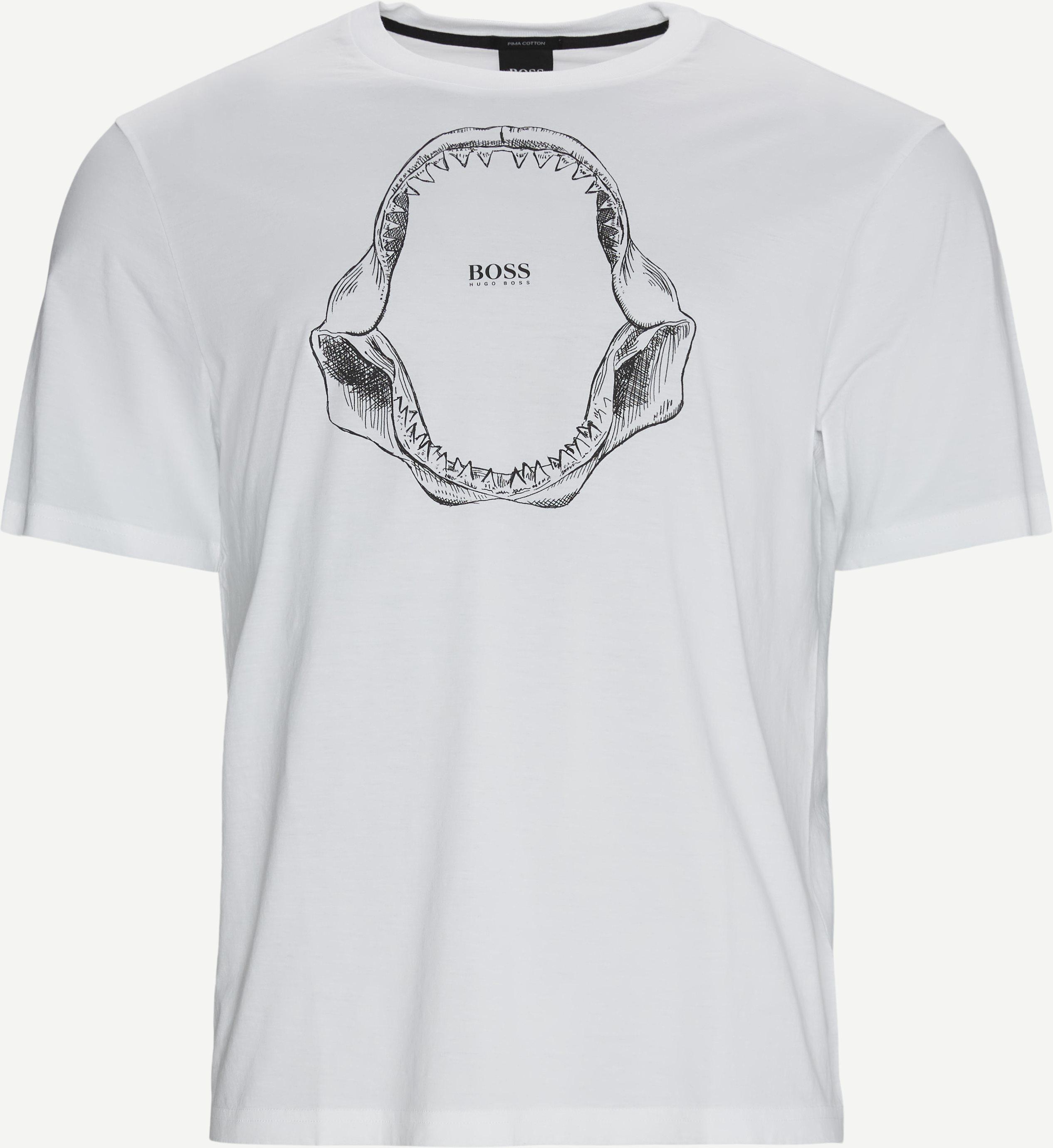 Tima 2 T-shirt - T-shirts - Regular - Vit