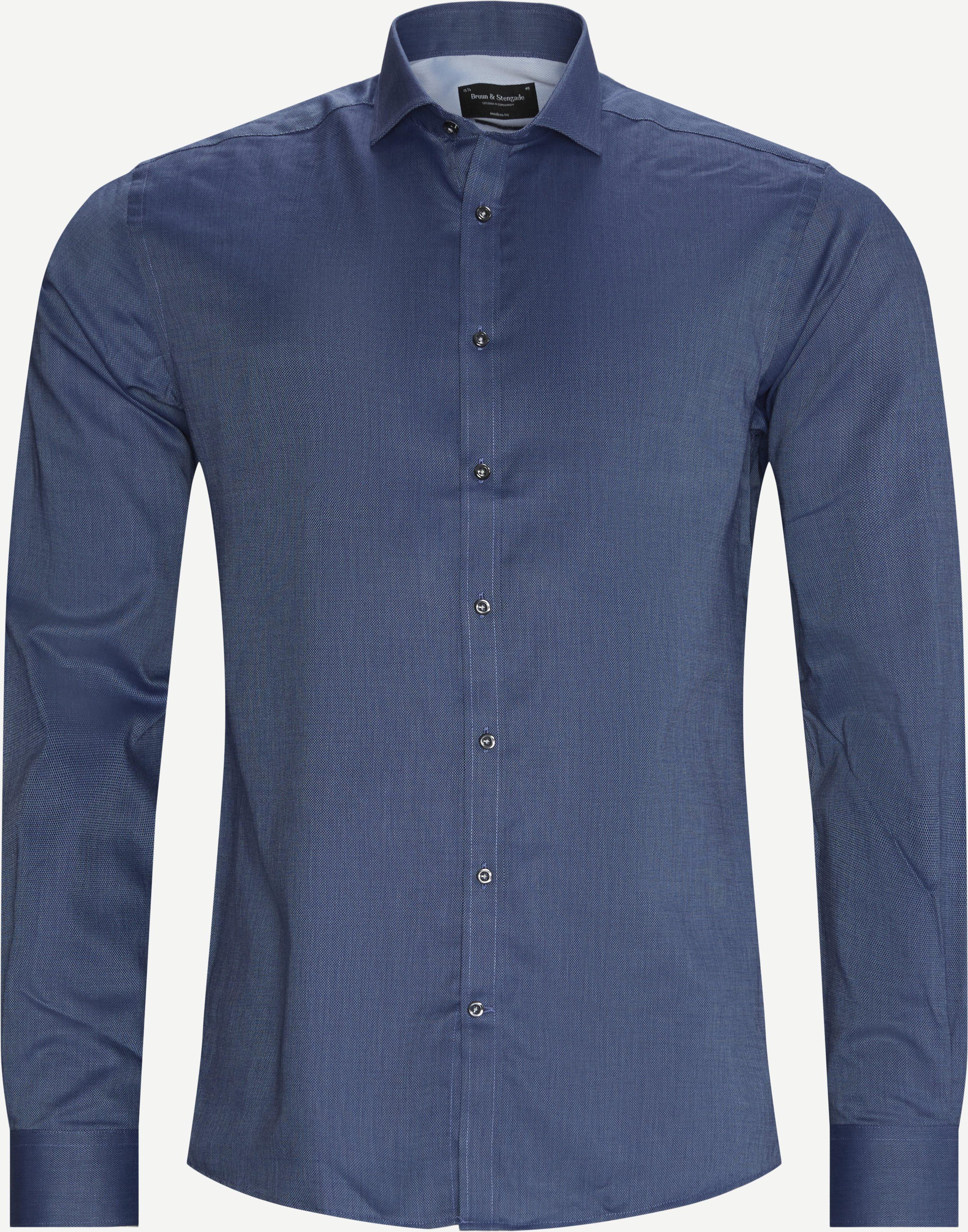 Barkley Skjorte - Skjorter - Regular - Blå