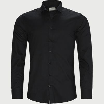 Leonardo Skjorte Slim fit | Leonardo Skjorte | Sort