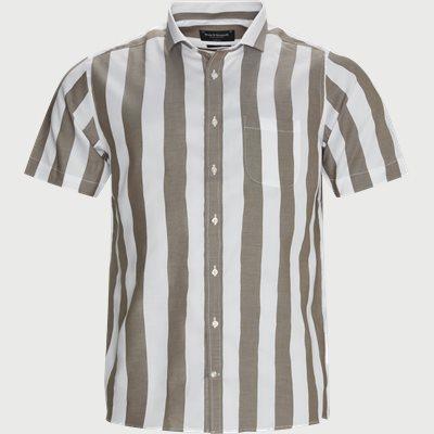 Regular fit   Kurzärmlige Hemden   Braun