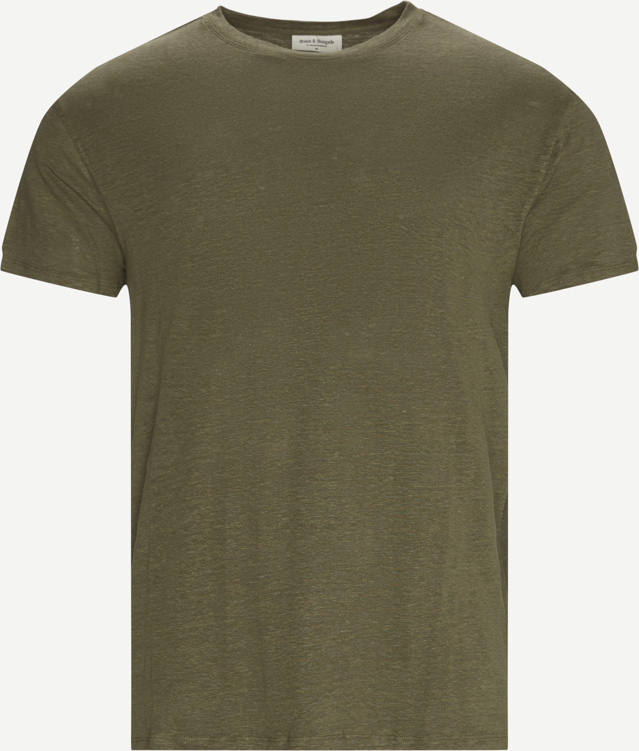 Palermo T-shirt - T-shirts - Regular - Army