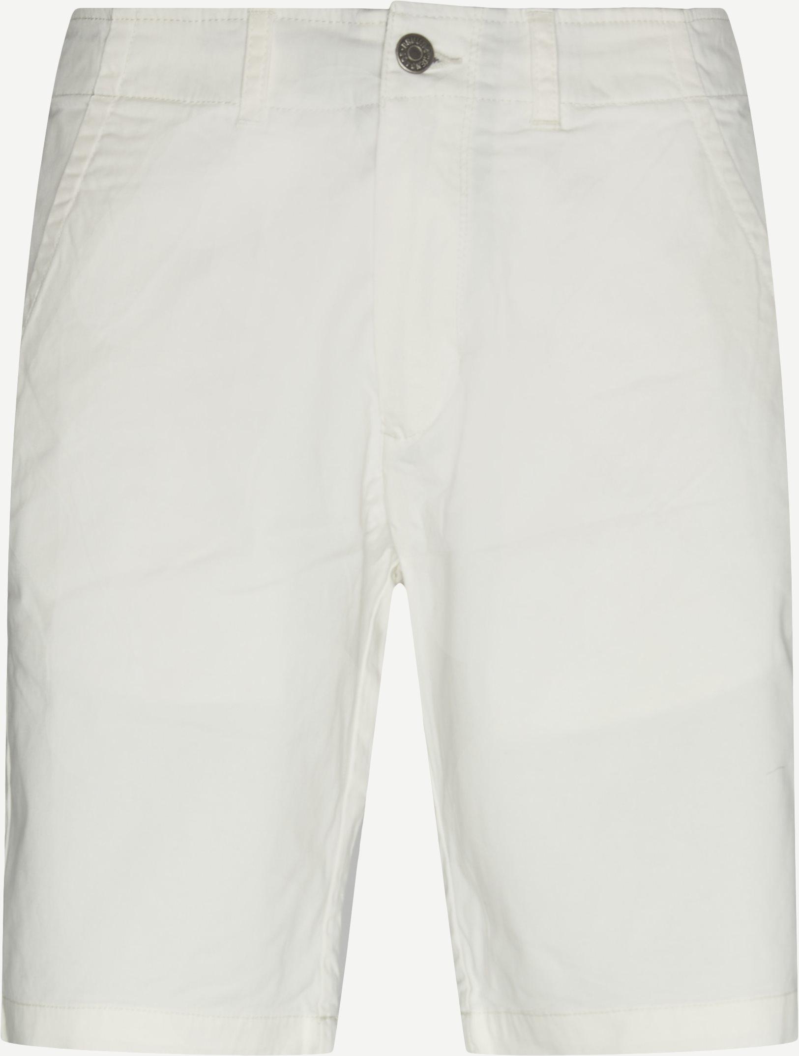 Shorts - Regular - Weiß