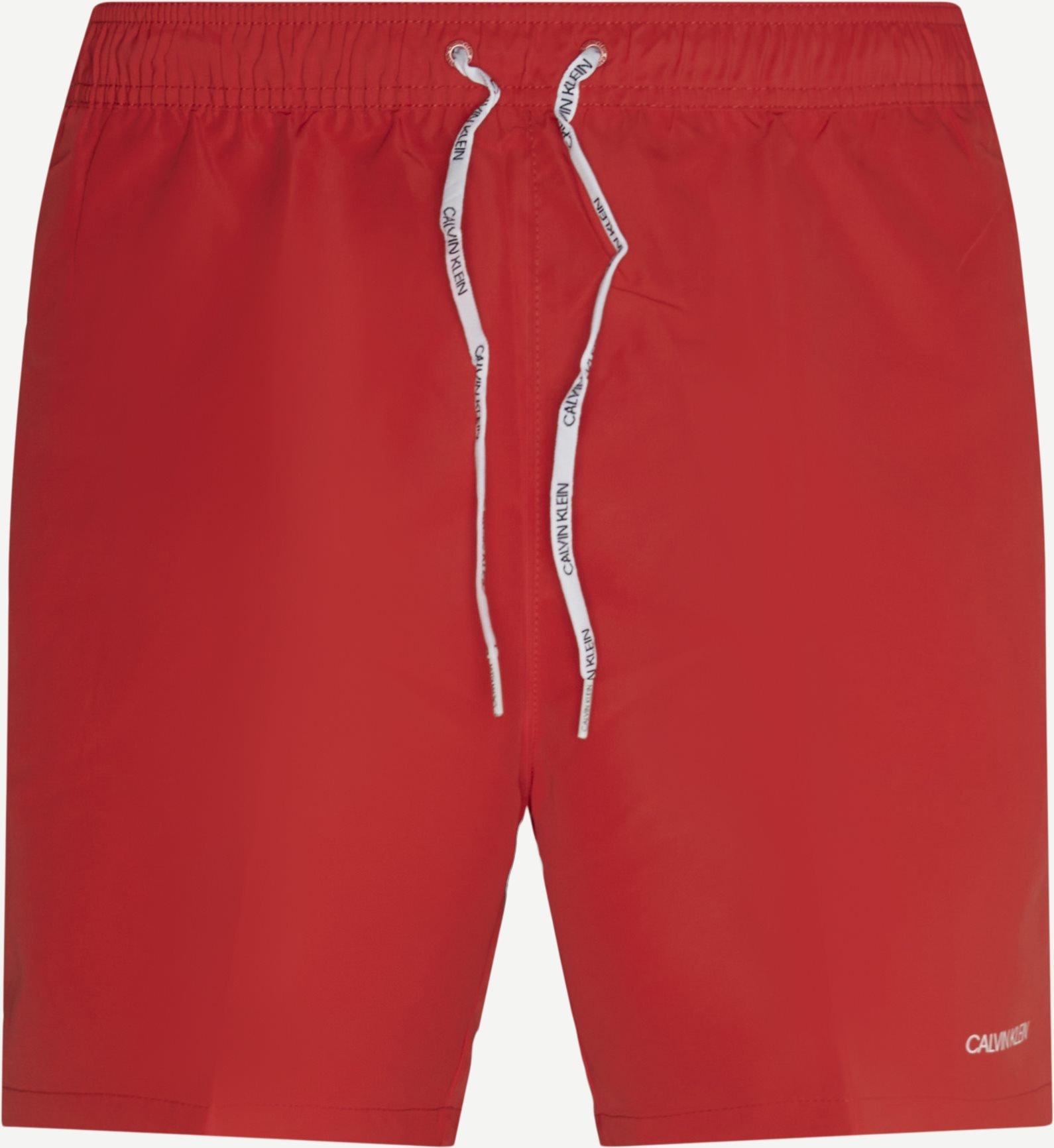 Shorts - Regular - Röd