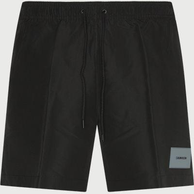 Regular | Shorts | Schwarz