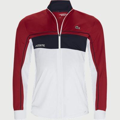 Zip Sweatshirt Regular fit | Zip Sweatshirt | Red