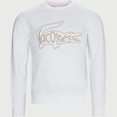 Crewneck Sweatshirt Regular fit | Crewneck Sweatshirt | Hvid
