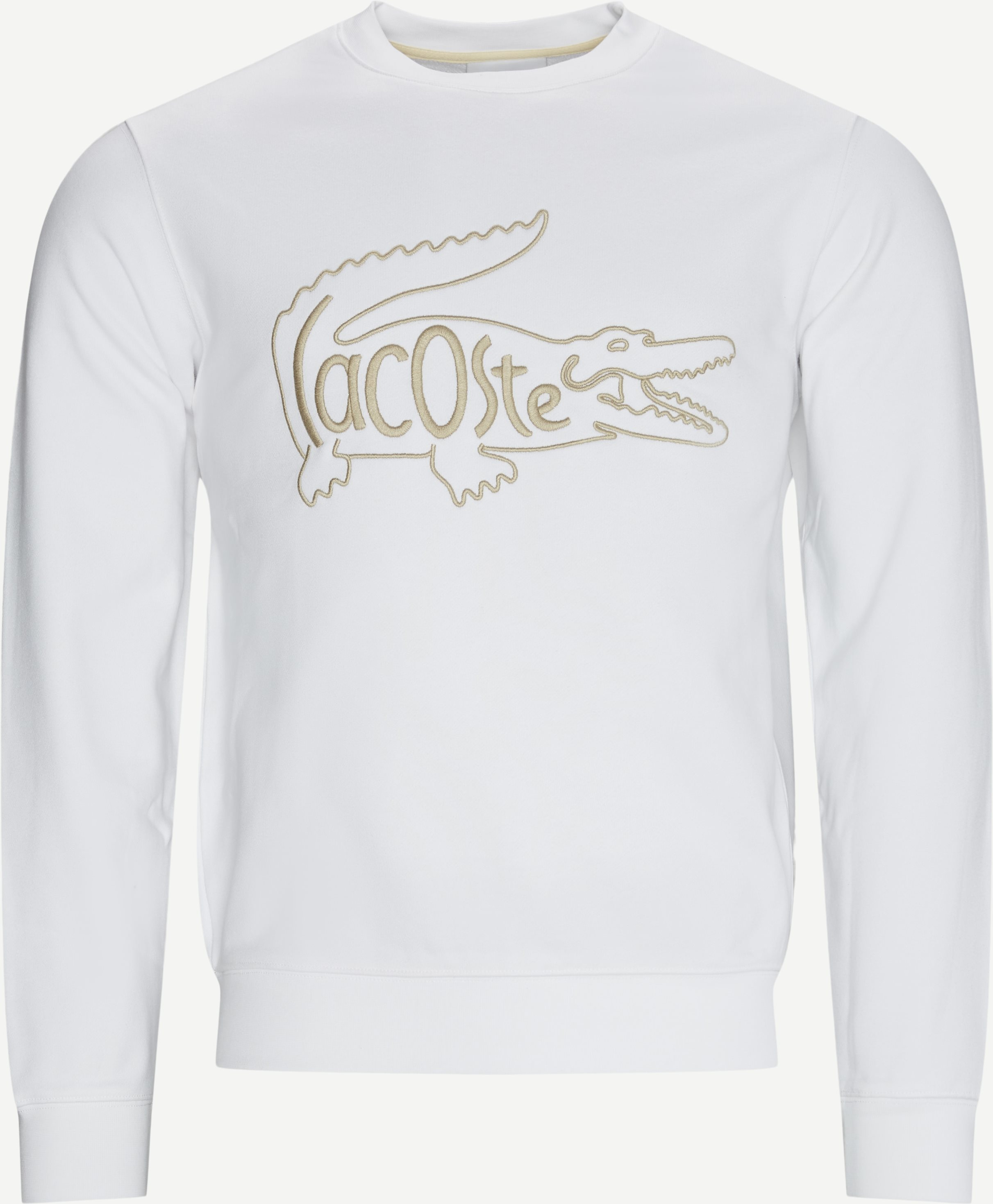 Crewneck Sweatshirt - Sweatshirts - Regular fit - White