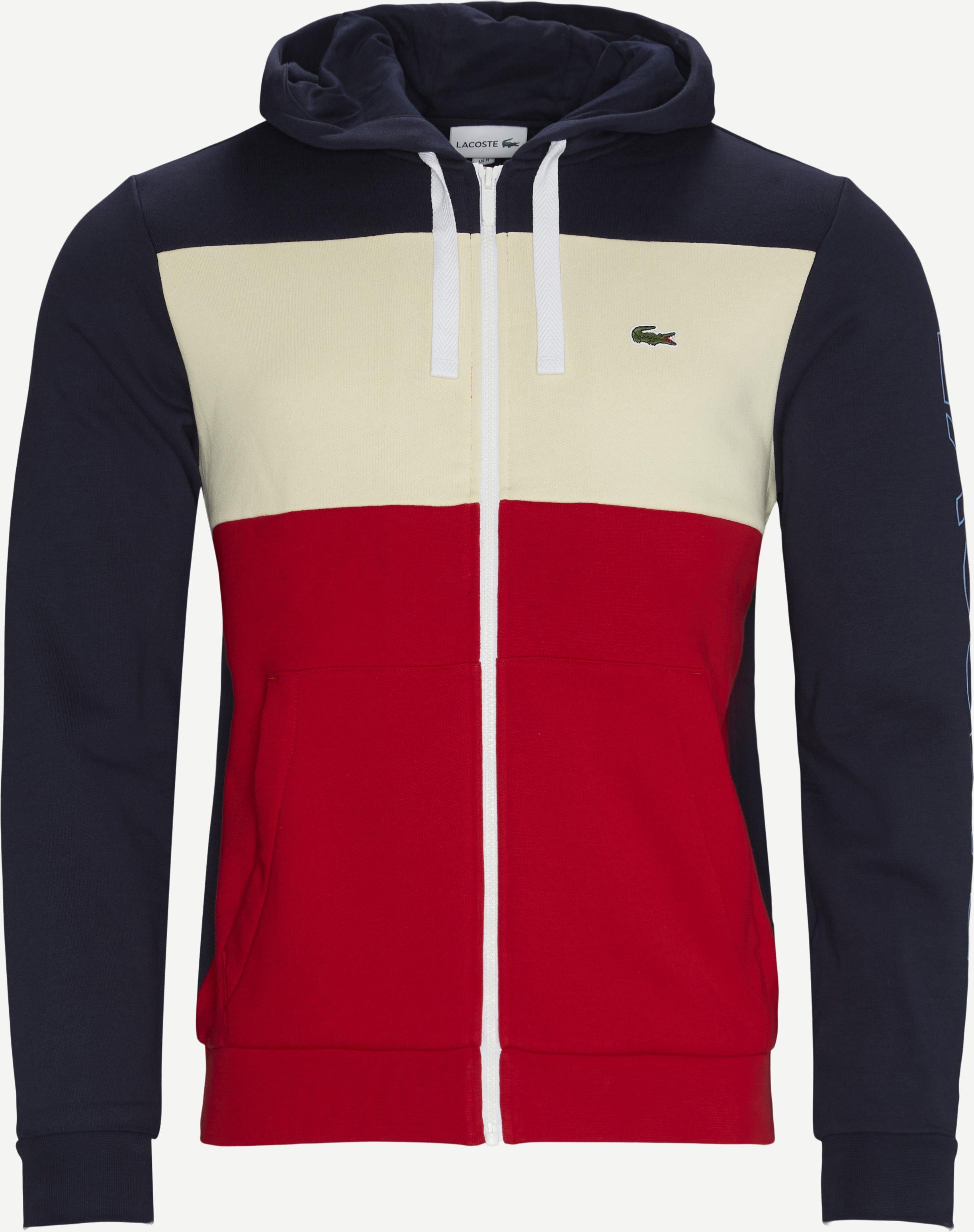 SH0177 Zip Hoodie - Sweatshirts - Regular fit - Blue