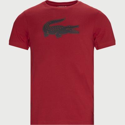 3D Print Crocodile Breathable Jersey T-shirt Regular fit |  3D Print Crocodile Breathable Jersey T-shirt | Rød