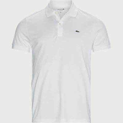 Jersey Polo T-shirt Regular fit | Jersey Polo T-shirt | Hvid