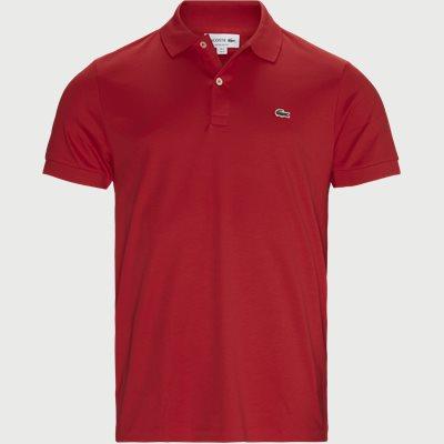 Jersey Polo T-shirt Regular fit | Jersey Polo T-shirt | Rød