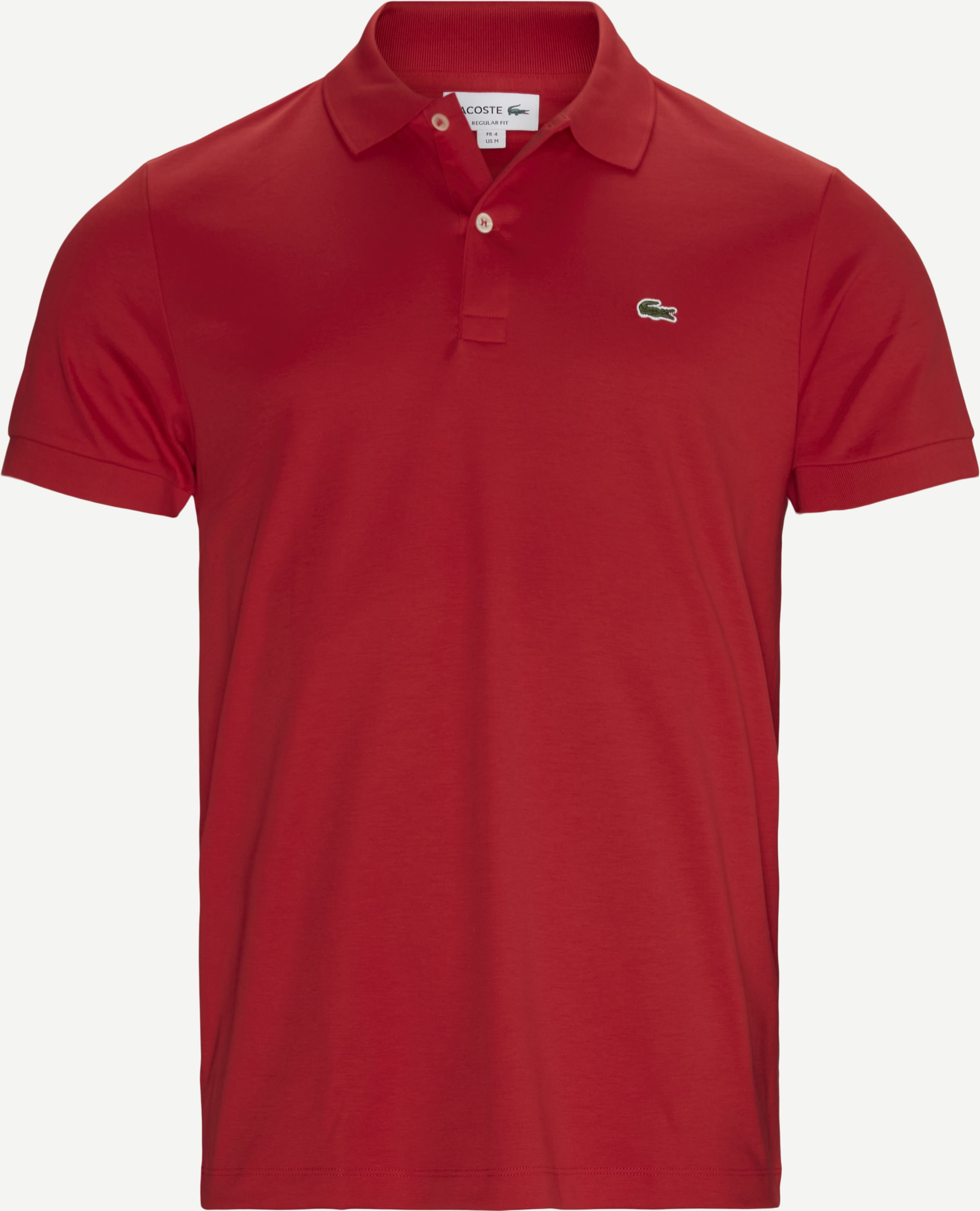 Jersey Polo T-shirt - T-shirts - Regular - Rød