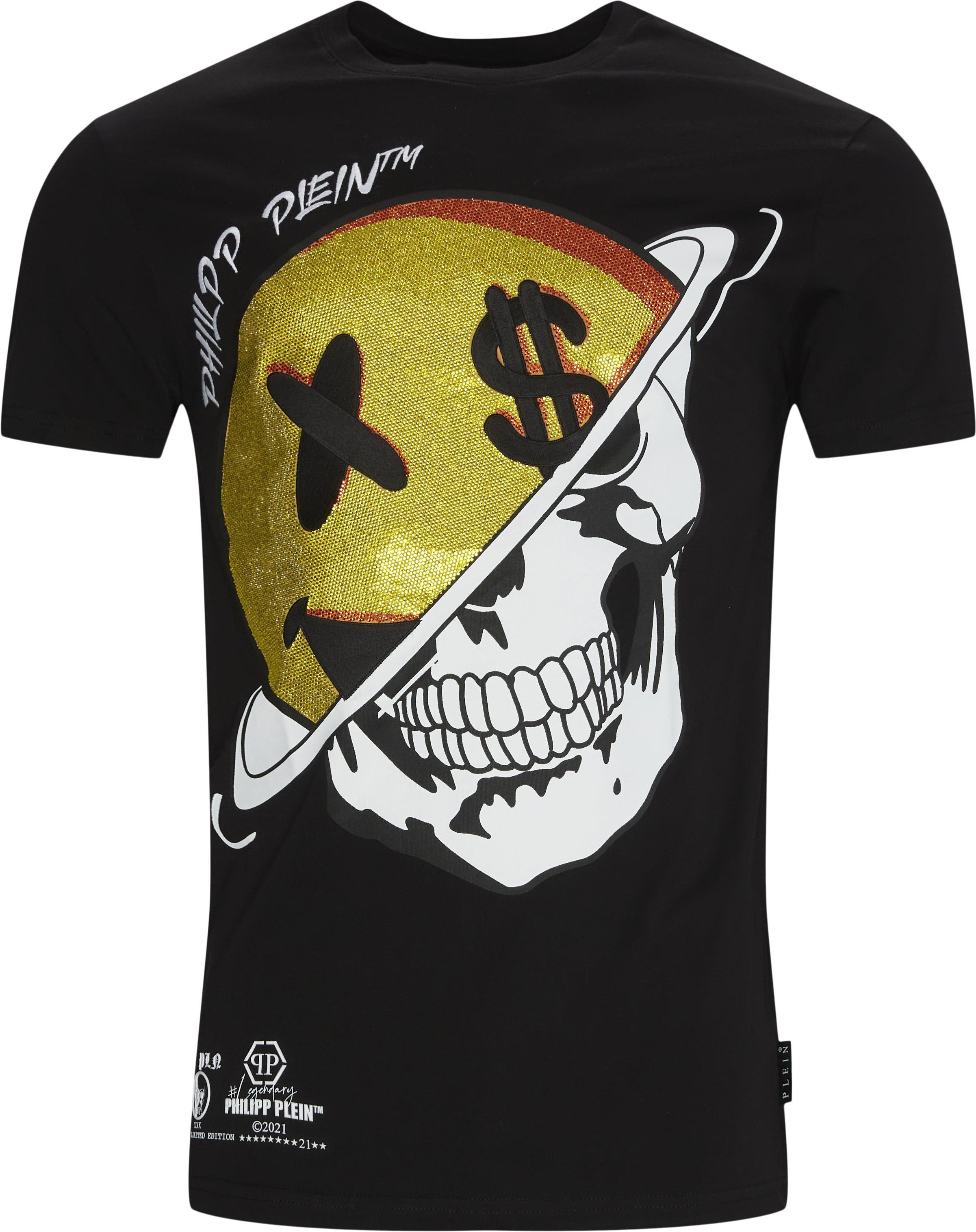 T-shirts - Loose fit - Black
