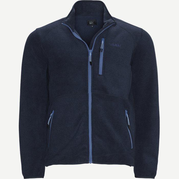 Colin Fleeze Sweatshirt - Sweatshirts - Regular - Blå