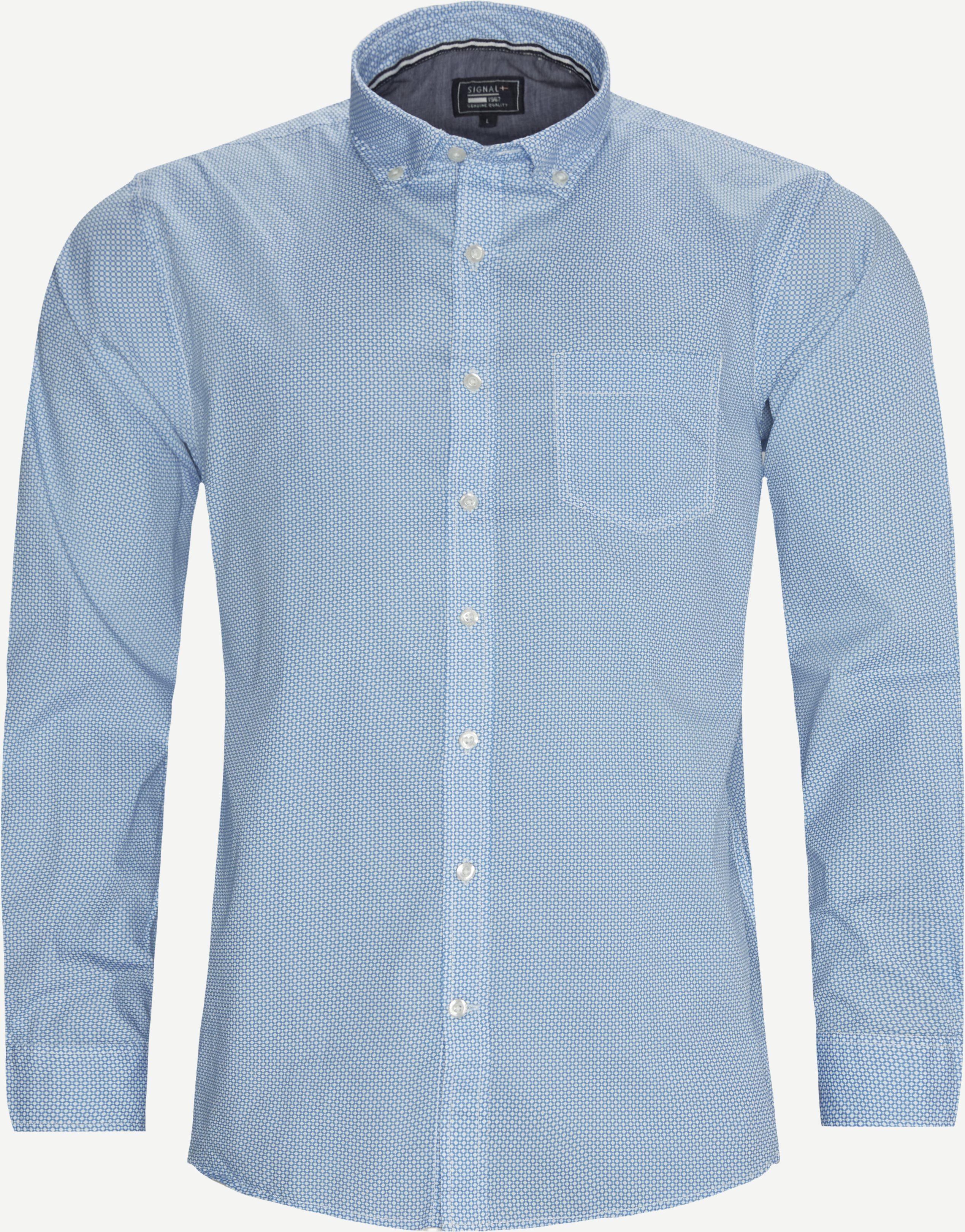 15414 0 Skjorte - Skjorter - Regular - Blå