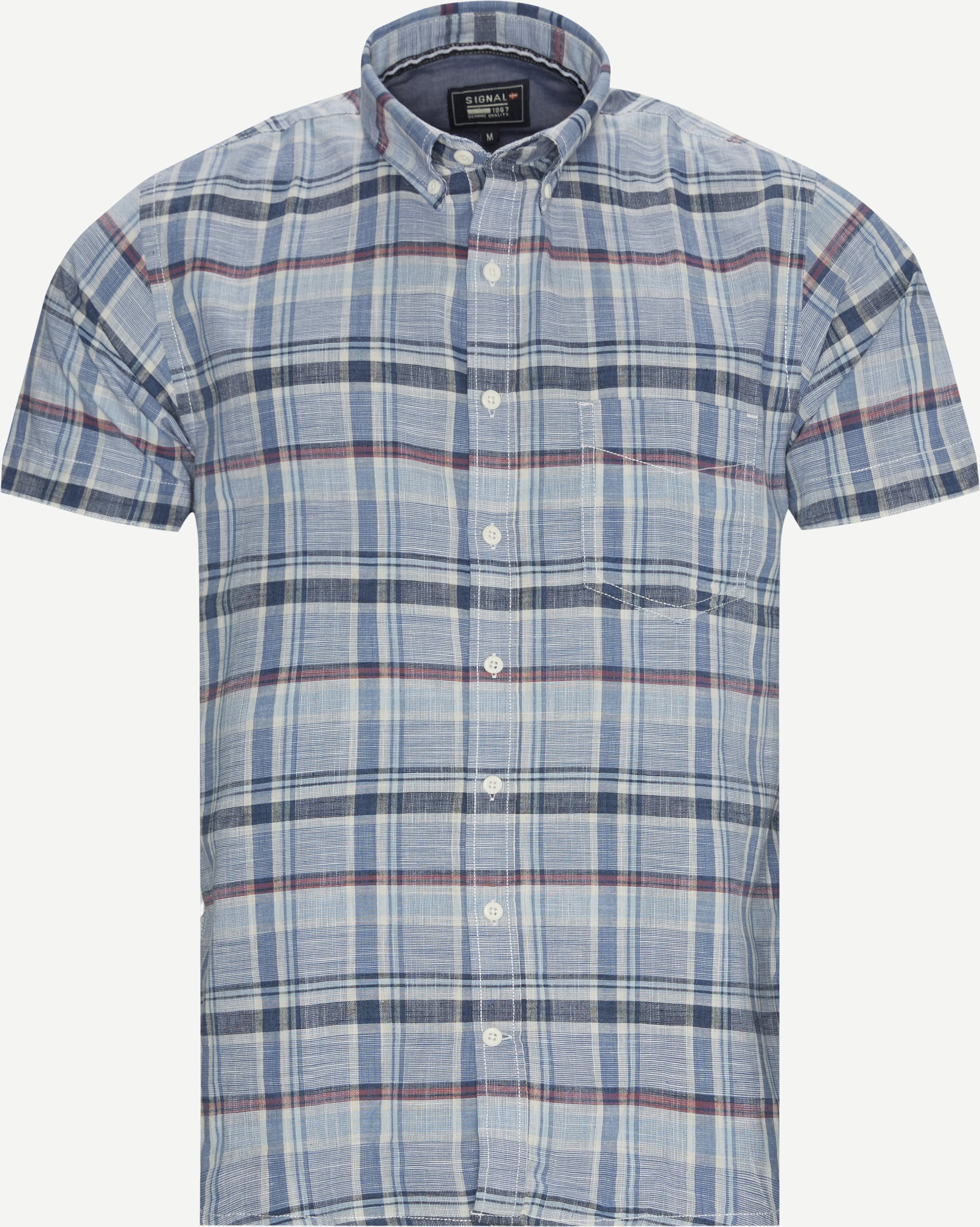 Short-sleeved shirts - Blue