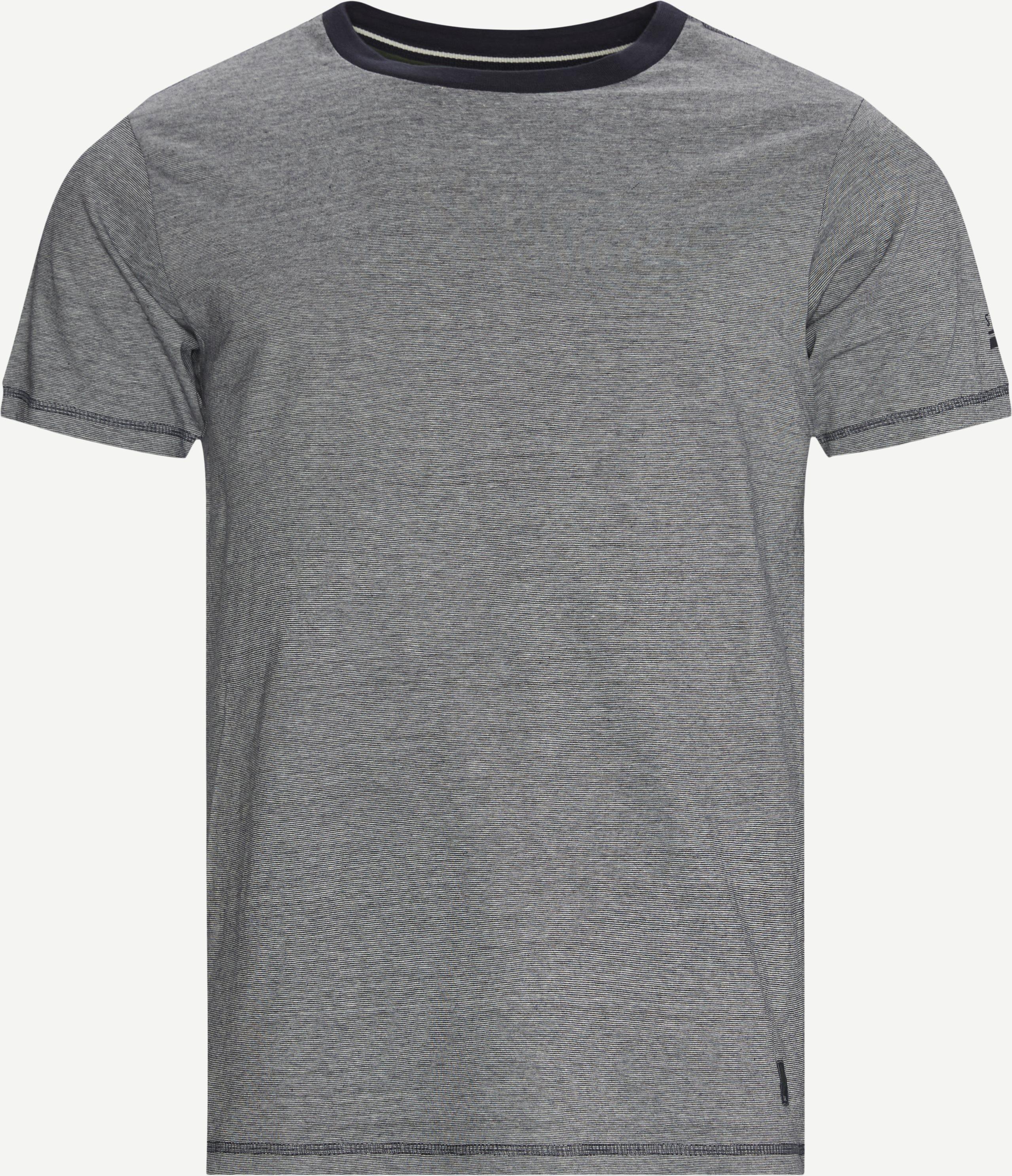 13055 1600 T-shirt - T-shirts - Regular - Blå