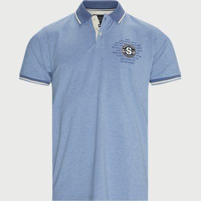 13337 67 Polo T-shirt Regular | 13337 67 Polo T-shirt | Blå