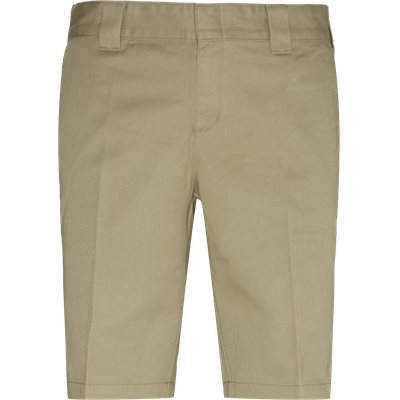 Slim fit | Cargobyxor | Sand
