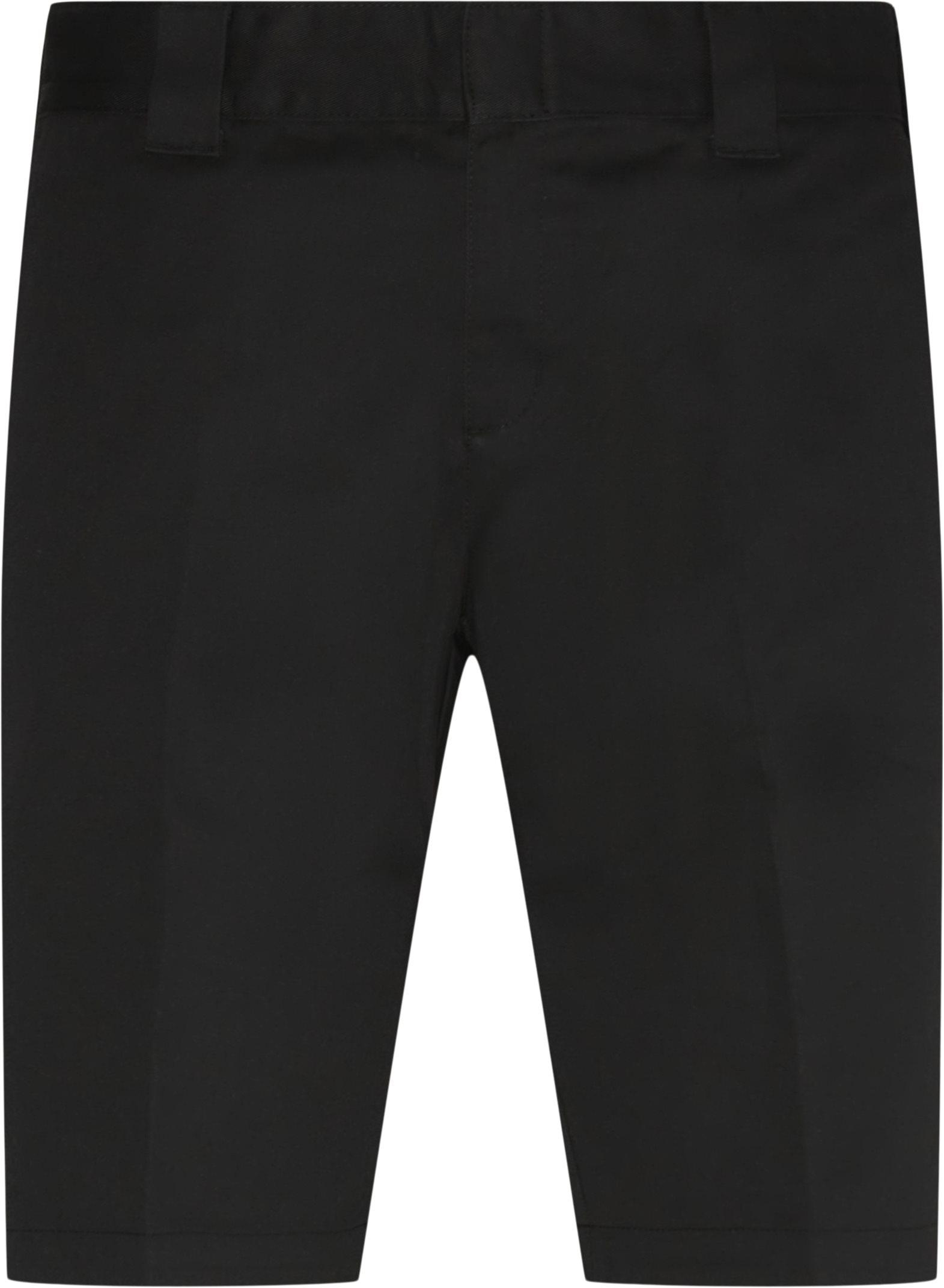 Slim Fit Shorts - Cargo pants - Slim - Sort