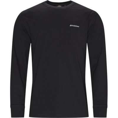 LS Loretto Langærmet T-shirt Regular fit | LS Loretto Langærmet T-shirt | Sort
