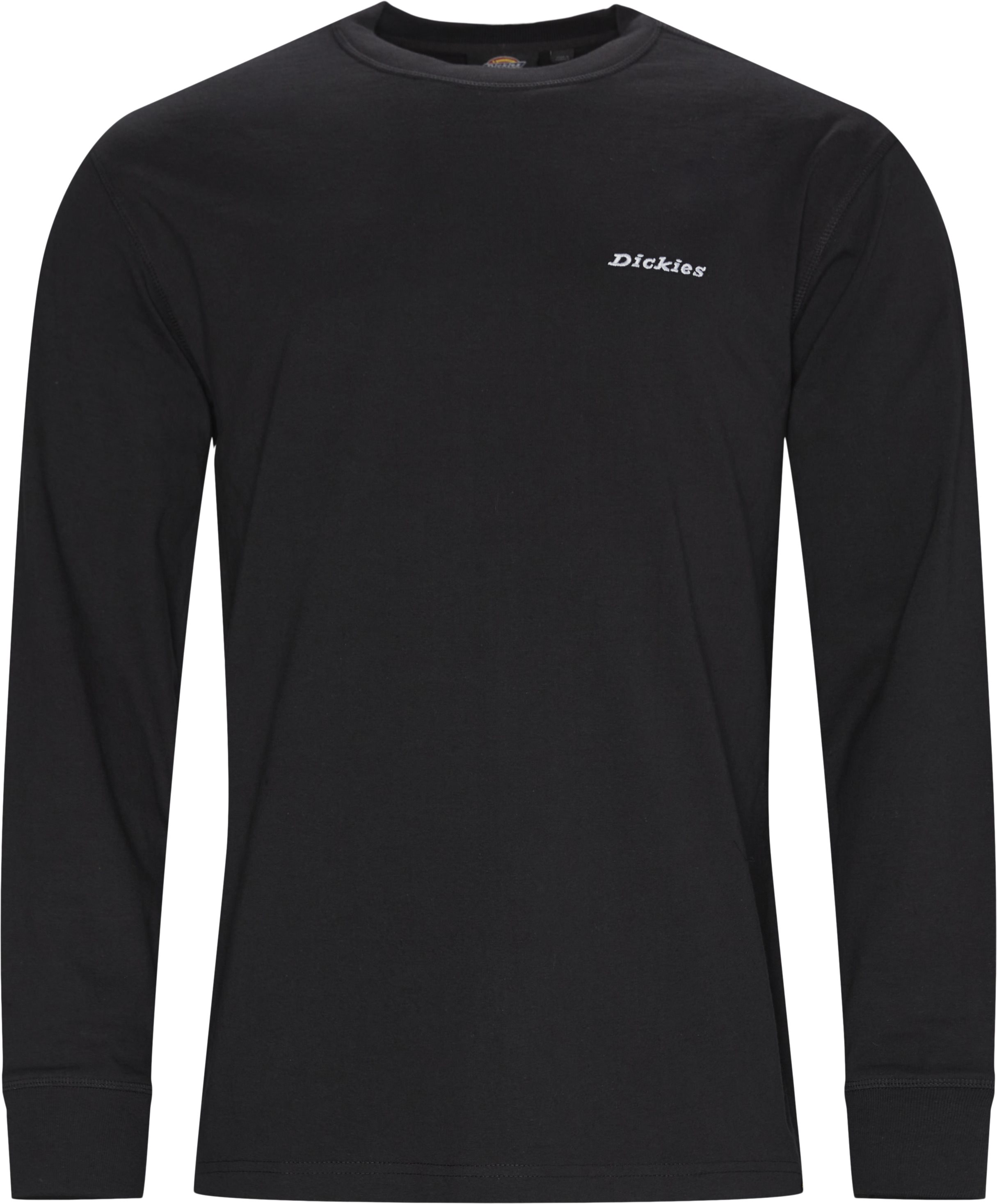 LS Loretto Langærmet T-shirt - T-shirts - Regular fit - Sort